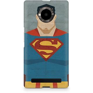 CopyCatz Superman Minimalist Premium Printed Case For Micromax YU Yuphoria