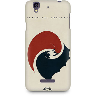 CopyCatz Dawn of Justice Capes Flying Premium Printed Case For Micromax YU Yureka A05510