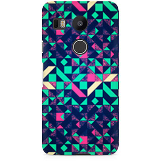 CopyCatz Abstract Wookmark Premium Printed Case For LG Nexus 5X