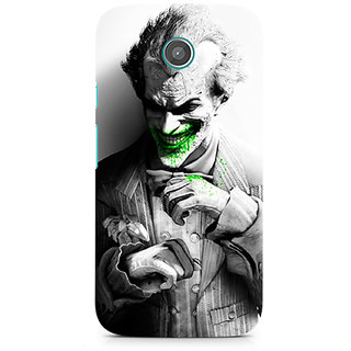 CopyCatz Arkham City Joker Premium Printed Case For Moto E