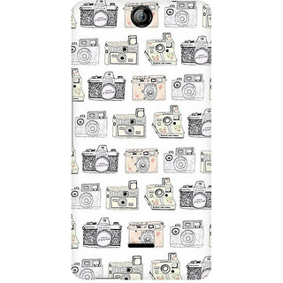 CopyCatz Cameras Premium Printed Case For Micromax Canvas Juice 3 Q392