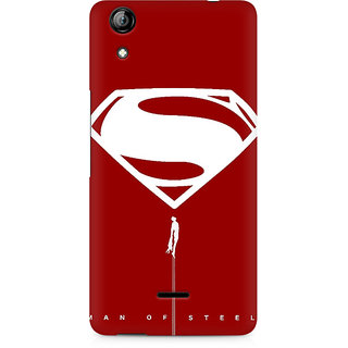 CopyCatz Man of Steel Premium Printed Case For Micromax Canvas Selfie 2 Q340