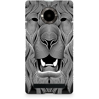 CopyCatz Wavy Lion Premium Printed Case For Micromax YU Yuphoria