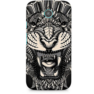 CopyCatz Abstract Tiger Premium Printed Case For Moto E2