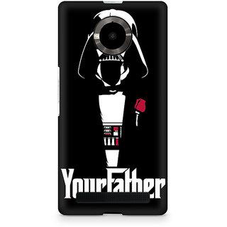 CopyCatz Your Father Premium Printed Case For Micromax YU Yuphoria