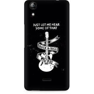 CopyCatz Rock And Roll Premium Printed Case For Micromax Canvas Selfie 2 Q340