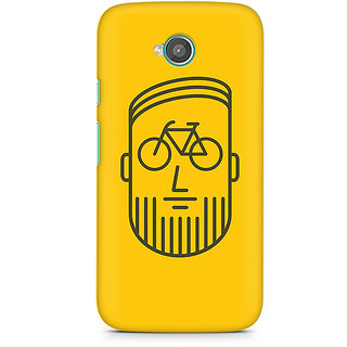 CopyCatz BikeFace Premium Printed Case For Moto E2