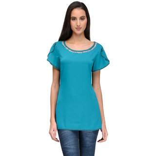 Tunic Nation Women's Solid Top