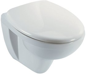 Kohler Patio (K-18131In-SWhite) Wall-Hung Toilet With Quiet Seat  Cover