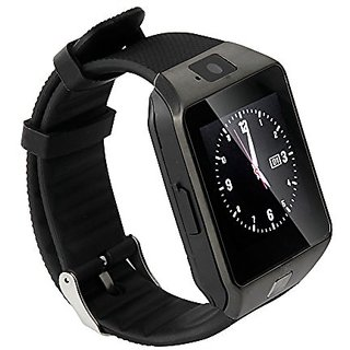 Smartwatch Bluetooth(Sim Supported) with apps for LG A390 Silver by JIYANSHI