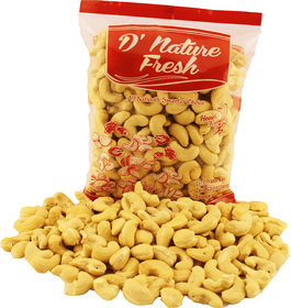 D'Nature Fresh Cashew Raw W-240 - Dried Fruits (250 Gms)