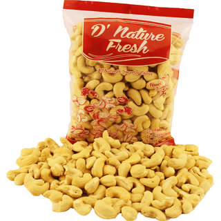D'Nature Fresh Cashew Raw W-240 - Dried Fruits (250 Gms)