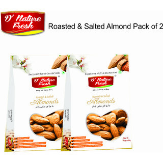 Roasted Salted Almonds - Don't Sweat The Recipe
