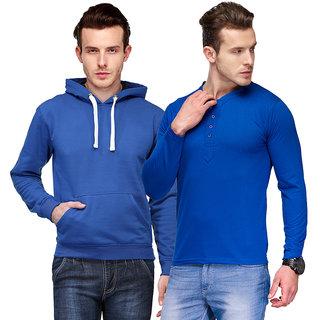 TSX Men's Multicolor Sweatshirt (Combo)
