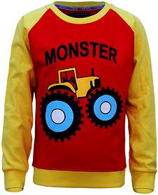 Kothari Boys Multicolor Sweatshirt