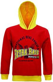 Kothari Red & Yellow Boys Sweatshirt