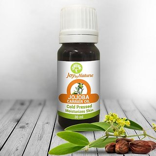 Joybynature Organic Jojoba Carrier Oil Combo (2X30Ml)