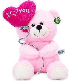 Tickles I Love You Balloon Heart Teddy