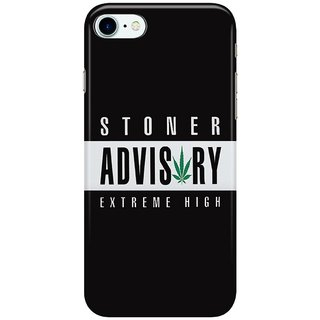 The Fappy Store ADVISORY S Back Cover for Apple iPhone 7