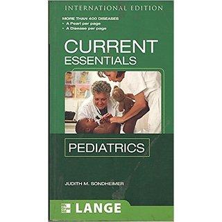 Lange Current Essentials Pediatrics
