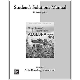 Elementary &Amp; Intermediate Algebra
