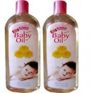 Wheezal Calendula Baby Oil - 100ml - Pack of 2