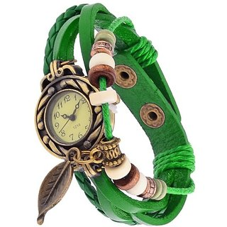True Choice Green Vintage watch for Ladies Special Offer For ALL