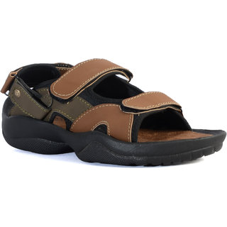 Shoegaro Men Tan Sandals