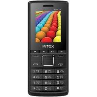 Intex Eco Beat Dual SIM Feature Phone (Black Grey)