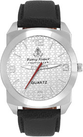Ferry Rozer Silver Dial Analog Watch For Men - FR1072