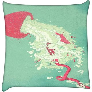 Snoogg Starfish syndrome 2505  Digitally Printed Cushion Cover Pillow 16 x 16 Inch