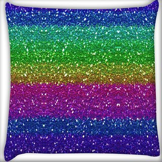 Snoogg cool colourful pattern Digitally Printed Cushion Cover Pillow 16 x 16 Inch