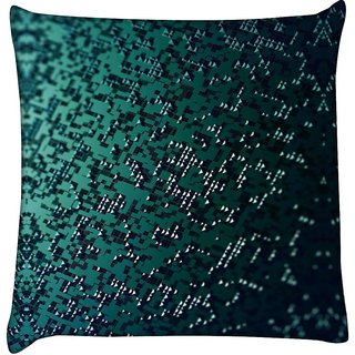 Snoogg small pyramid pieces 2697  Digitally Printed Cushion Cover Pillow 16 x 16 Inch