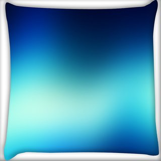 Snoogg Blur Wallpapers Digitally Printed Cushion Cover Pillow 16 x 16 Inch