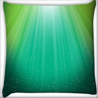 Snoogg Multicolor Background Digitally Printed Cushion Cover Pillow 16 x 16 Inch