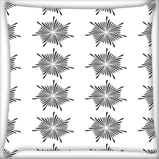 Snoogg Sparkling Pattern Digitally Printed Cushion Cover Pillow 16 x 16 Inch