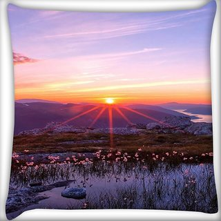 Snoogg Splendid Fantasy Digitally Printed Cushion Cover Pillow 16 x 16 Inch