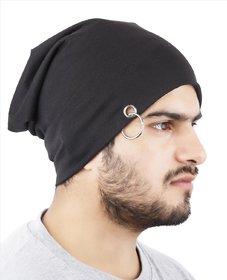 LC Black Beanie Cap