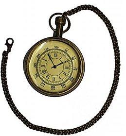Somyaleger Antique Nautical Brass Pocket Watch