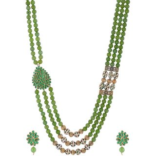 women color bead for at crystal necklace aradhya five beads amazon grass and jewellery india buy in online dp prices green low store layer girls