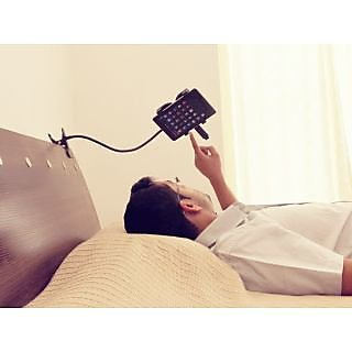 Universal  Lazy Bed Stand Holder For All 7inch Tablets Black