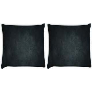 Snoogg Pack Of 2 Metal Textures Digitally Printed Cushion Cover Pillow 10 x 10 Inch