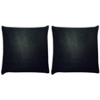 Snoogg Pack Of 2 Snake Skin Digitally Printed Cushion Cover Pillow 10 x 10 Inch