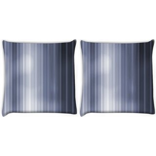 Snoogg Pack Of 2 Lite Grey Color Digitally Printed Cushion Cover Pillow 10 x 10 Inch