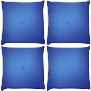 Snoogg Pack Of 4 E Digitally Printed Cushion Cover Pillow 10 x 10 Inch