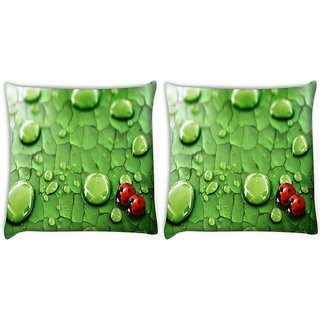 Snoogg Pack Of 2 Beatel In Thrones Digitally Printed Cushion Cover Pillow 10 x 10 Inch