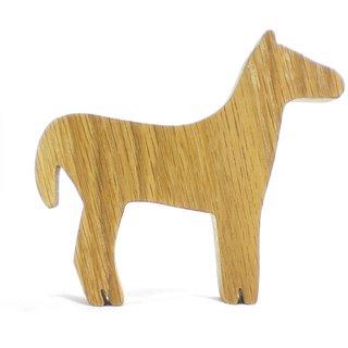A Wooden Horse Model