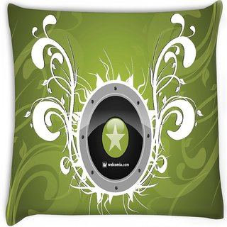 Snoogg  clubbing theme  Digitally Printed Cushion Cover Pillow 12 x 12 Inch