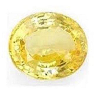 Jaipur Gemstone 8.44 carat yellow sapphire(pukhraj)