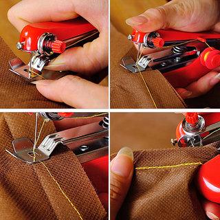 Burhani traders 5253 Portable Ami Mini Hand Sewing Machine Stapler Model